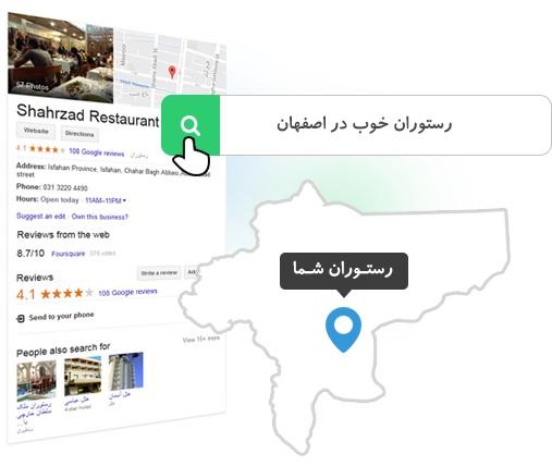 نقشه ی گوگل